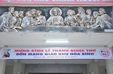 LỄ KHAI MẠC THÁNG HOA  MỪNG KÍNH THÁNH GIUSE THỢ